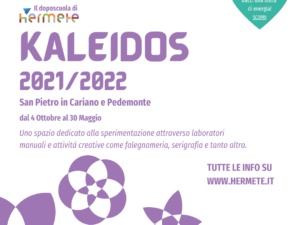 UN POMERIGGIO SECONDO FIGLIO – Kaleidos Doposcuola di Pedemonte e San Pietro in Cariano 2021/22 – SECONDO FIGLIO