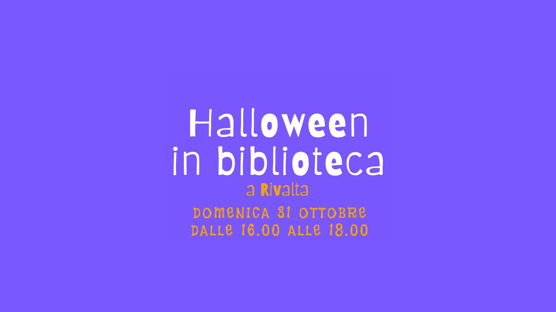 Read more about the article Letture di Hallowen in biblioteca!
