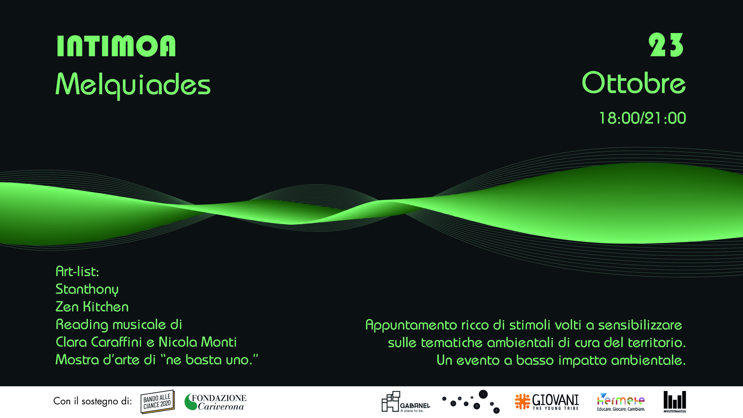 Read more about the article Melquìades ad Intimoa – Concert & Eco Culture